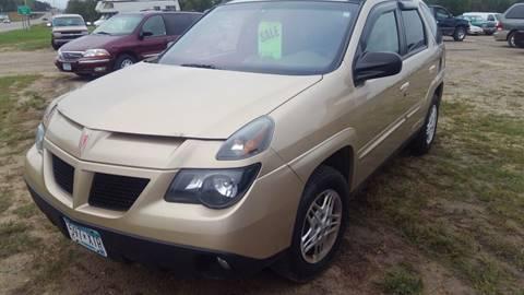 2004 Pontiac Aztek for sale in Bemidji, MN
