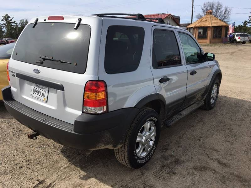 2002 Ford Escape XLT Choice 4WD 4dr SUV - Bemidji MN