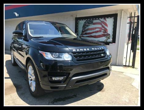 2016 Land Rover Range Rover Sport for sale in Detroit, MI