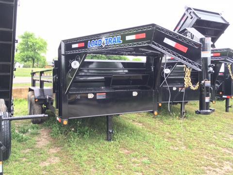 "2017 Load Trail 83"" X 12' GOOSENECK DUMP"