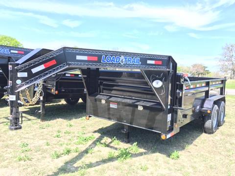 2018 Load Trail 12' GN DUMP W/ SCISSOR LIFT