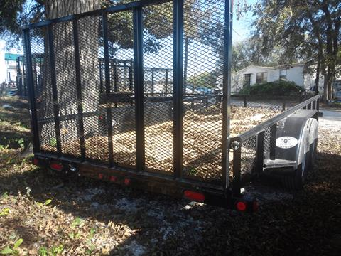 "2018 Load Trail UE77- 77""X16' 4' FOLD GATE"