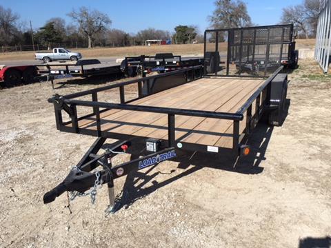 "2018 Load Trail UE18-83""X18' UTILITY 7000 GVWR"
