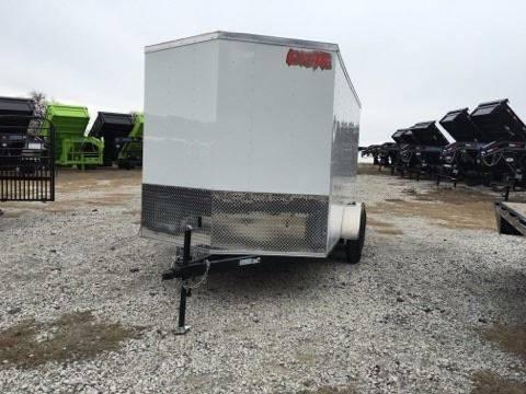 2016 CROSS 7 X 14 Enclosed Rear Ramp Door