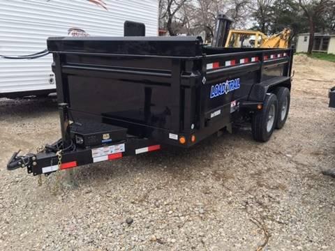 """2017 Load Trail 83"""" x 14' - 14k Bumper Pull"""