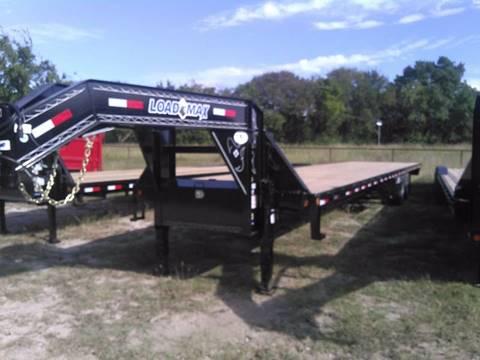 2017 Load Trail 102 x 40' Air Ride W Lift Axle