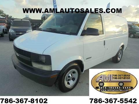1998 Chevrolet Astro Cargo for sale in Opalocka, FL