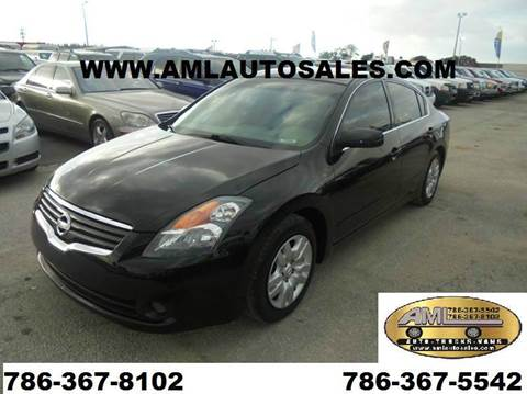 2009 Nissan Altima for sale at AML AUTO SALES - Sedans/SUV's in Opa-Locka FL