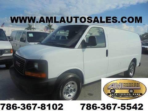 2008 GMC Savana Cargo for sale in Opalocka, FL