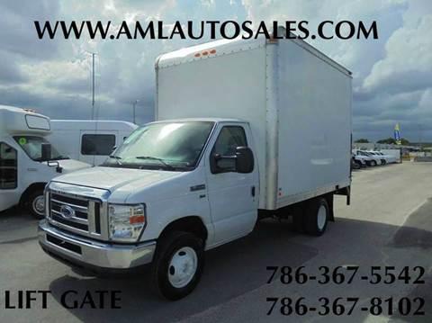 2011 Ford E-350 *BOX* *TRUCK* *CUTAWAY* for sale at AML AUTO SALES - Box trucks in Opa-Locka FL
