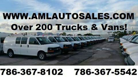 2010 Chevrolet Express Cargo for sale at AML AUTO SALES in Opa-Locka FL