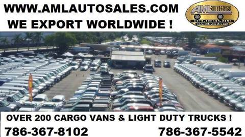 2003 Chevrolet Astro Cargo for sale at AML AUTO SALES - Cargo Vans in Opa-Locka FL