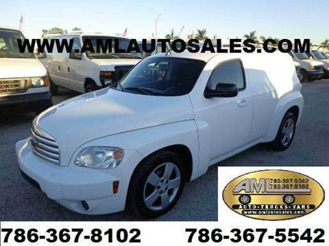 2011 Chevrolet HHR Cargo Van for sale at AML AUTO SALES - Cargo Vans in Opa-Locka FL