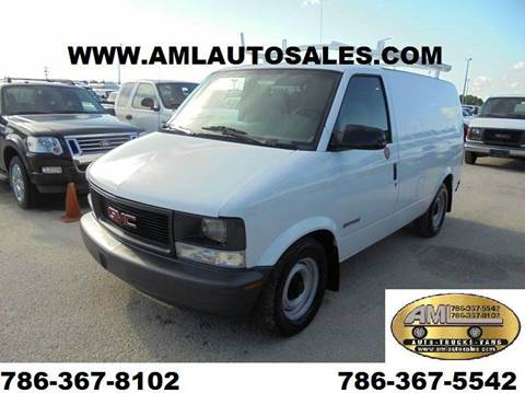 2000 GMC Safari Cargo for sale in Opa-Locka, FL