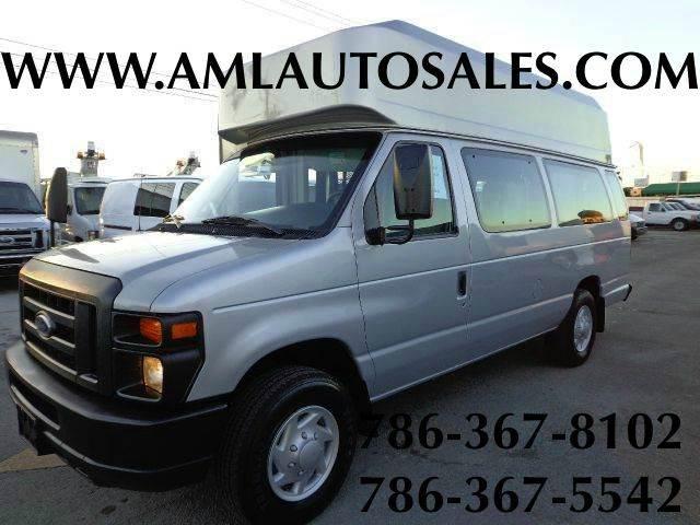 Van E Auto Sales Florida >> 2008 Ford E Series Wagon E 350 Sd Xl 3dr Extended Passenger Van In