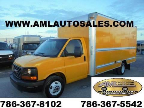2011 GMC Savana *BOX* *TRUCK* *CUTAWAY* for sale at AML AUTO SALES - Box trucks in Opa-Locka FL