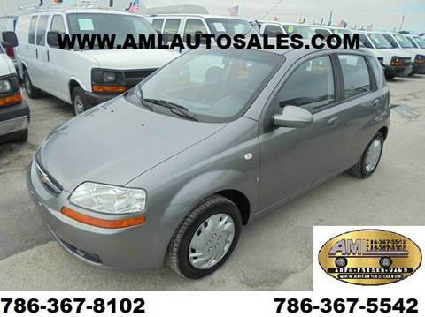 2008 Chevrolet Aveo for sale at AML AUTO SALES - Sedans/SUV's in Opa-Locka FL
