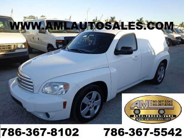 2008 Chevrolet HHR for sale at AML AUTO SALES - Cargo Vans in Opa-Locka FL
