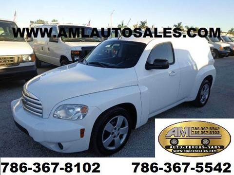 2008 Chevrolet HHR for sale at AML AUTO SALES - Cargo Vans in Opa-Locka FL