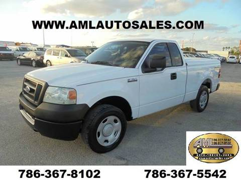 2005 Ford F-150 for sale at AML AUTO SALES - Pick-up Trucks in Opa-Locka FL