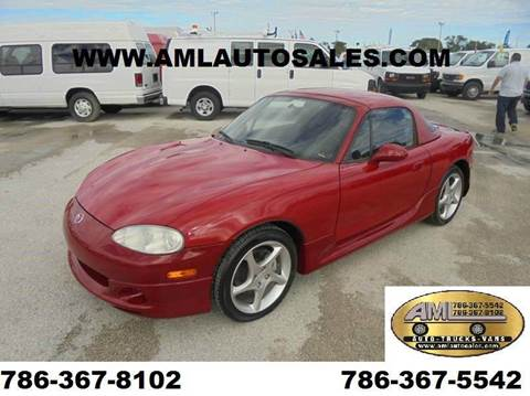 2003 Mazda MX-5 Miata for sale in Opalocka, FL