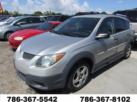 2004 Pontiac Vibe Toyota  *Matrix* for sale at AML AUTO SALES - Sedans/SUV's in Opa-Locka FL