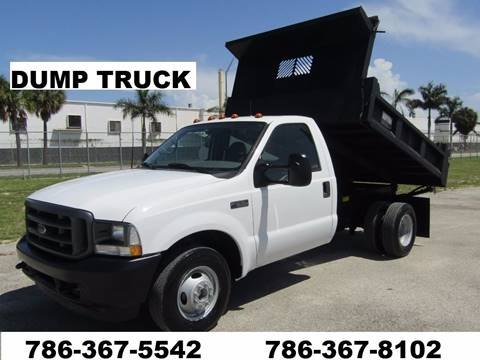 2002 Ford F-350 Super Duty *Dump Truck* for sale in Opalocka, FL
