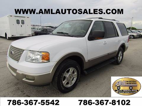 2003 Ford Expedition for sale at AML AUTO SALES - Sedans/SUV's in Opa-Locka FL