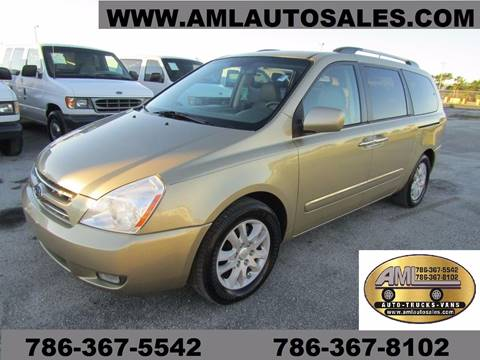 2010 Kia Sedona for sale at AML AUTO SALES - Passenger Vans in Opa-Locka FL