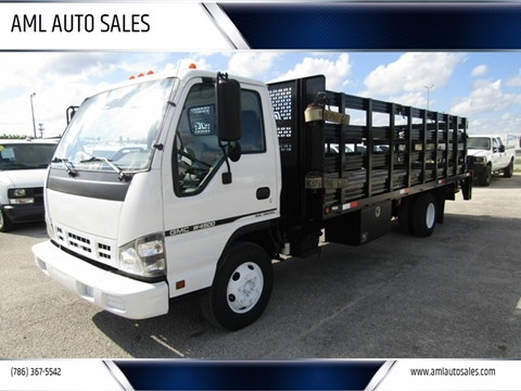 2007 GMC W4500 for sale in Opa-Locka, FL