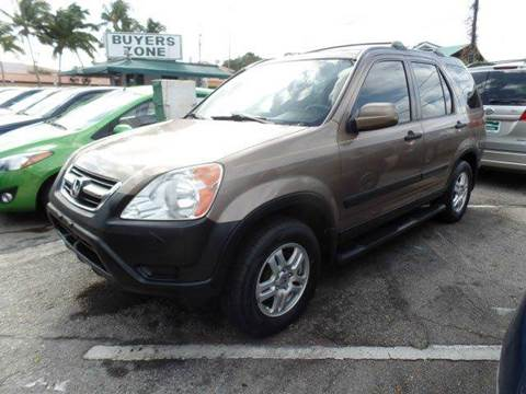 2004 Honda CR-V for sale in West Palm Beach, FL