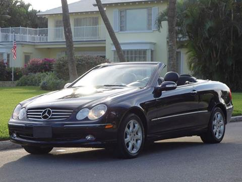 2004 Mercedes-Benz CLK for sale in West Palm Beach, FL