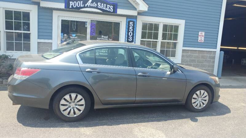 2009 Honda Accord for sale at Pool Auto Sales Inc in Spencerport NY