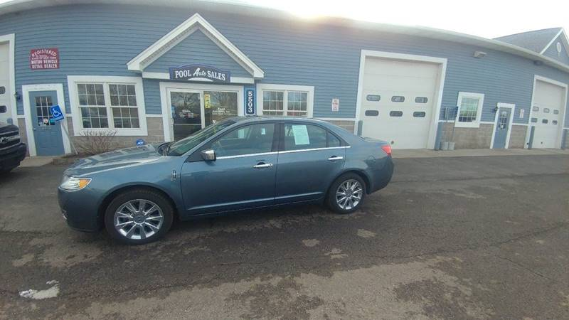 2011 Lincoln MKZ for sale at Pool Auto Sales Inc in Spencerport NY