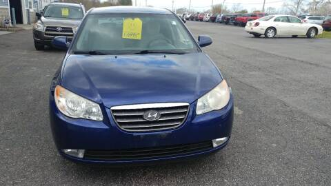 2009 Hyundai Elantra for sale at Pool Auto Sales Inc in Spencerport NY