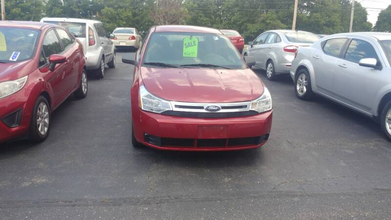 2010 Ford Focus for sale at Pool Auto Sales Inc in Spencerport NY