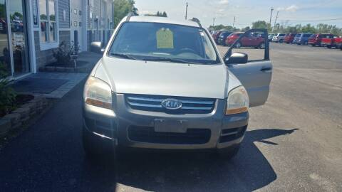 2008 Kia Sportage for sale at Pool Auto Sales Inc in Spencerport NY
