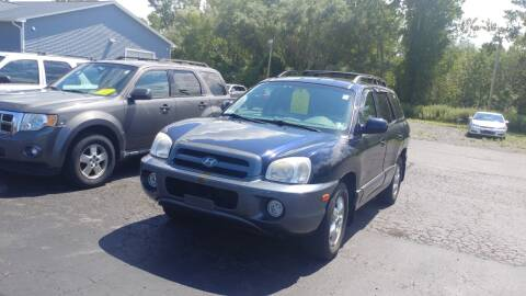 2005 Hyundai Santa Fe for sale at Pool Auto Sales Inc in Spencerport NY