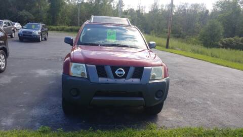 2007 Nissan Xterra for sale at Pool Auto Sales Inc in Spencerport NY