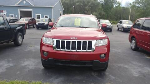 2011 Jeep Grand Cherokee for sale at Pool Auto Sales Inc in Spencerport NY