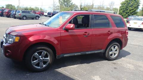 2012 Ford Escape for sale at Pool Auto Sales Inc in Spencerport NY