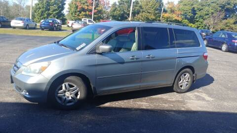 2006 Honda Odyssey for sale at Pool Auto Sales Inc in Spencerport NY