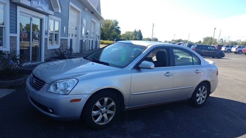 2007 Kia Optima for sale at Pool Auto Sales Inc in Spencerport NY