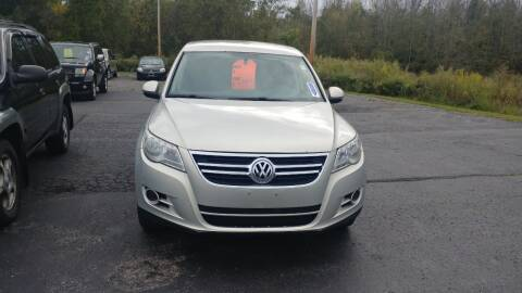 2011 Volkswagen Tiguan for sale at Pool Auto Sales Inc in Spencerport NY