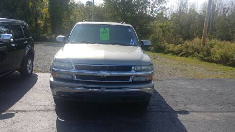2003 Chevrolet Tahoe for sale at Pool Auto Sales Inc in Spencerport NY