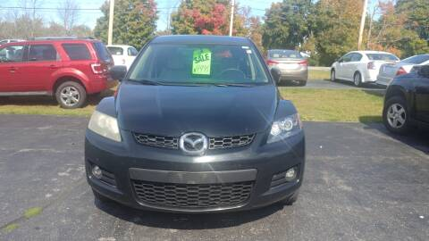 2009 Mazda CX-7 for sale at Pool Auto Sales Inc in Spencerport NY