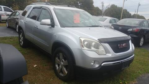 2011 GMC Acadia for sale at Pool Auto Sales Inc in Spencerport NY