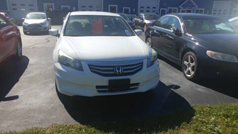 2012 Honda Accord for sale at Pool Auto Sales Inc in Spencerport NY