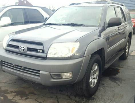 2003 Toyota 4Runner for sale in North Lima, OH