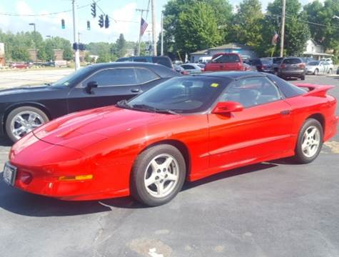 1997 Pontiac Firebird for sale in North Lima, OH
